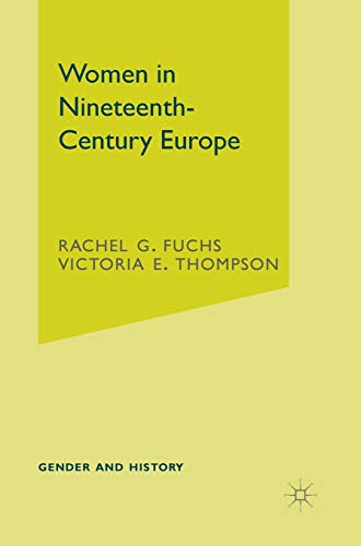 9780333676059: Women in Nineteenth-Century Europe (Gender and History)