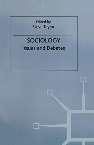 9780333676202: Sociology: Issues and Debates