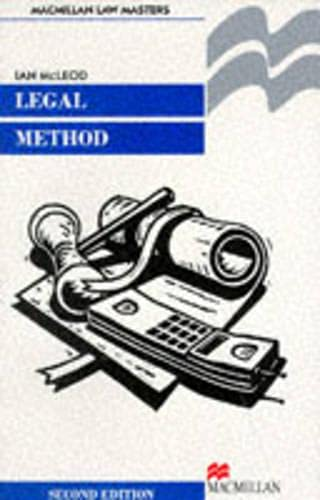 Legal Method (Palgrave Law Masters): McLeod, Ian