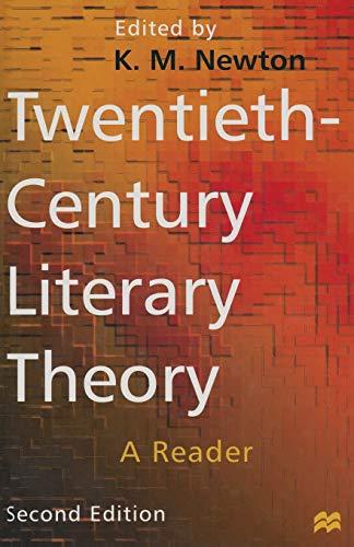 9780333677421: Twentieth-Century Literary Theory: A Reader