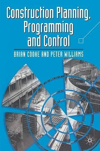 9780333677582: Construction Planning, Programming and Control (Building & Surveying Series)