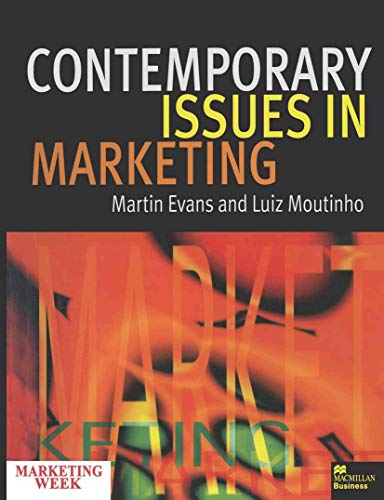 9780333677742: Contemporary Issues in Marketing
