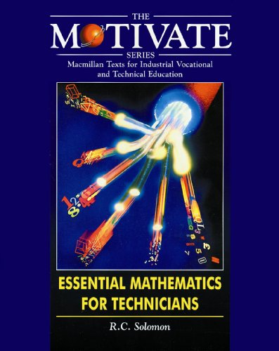9780333677964: Essential Mathematics for Technicians (MOTIVATE (Macmillan texts for industrial vocational & technical education))