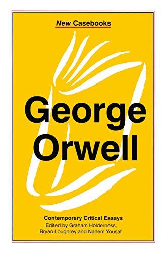 9780333679784: George Orwell