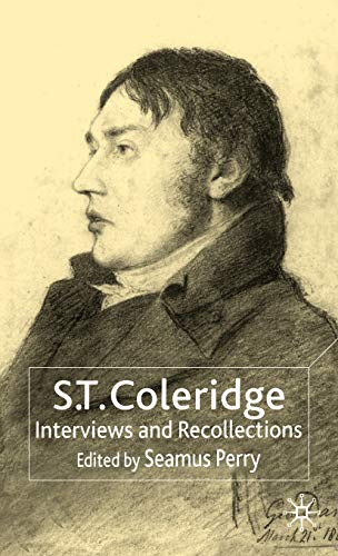 9780333681596: S.T. Coleridge: Interviews and Recollections