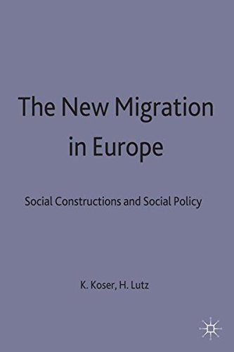 9780333683118: The New Migration in Europe: Social Constructions and Social Realities