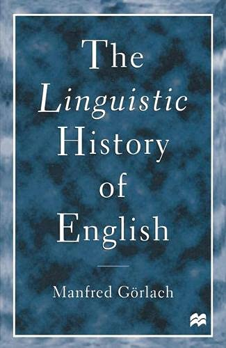 9780333684566: The Linguistic History of English: An Introduction