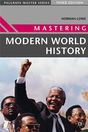 9780333685235: Mastering Modern World History (Palgrave Master Series)
