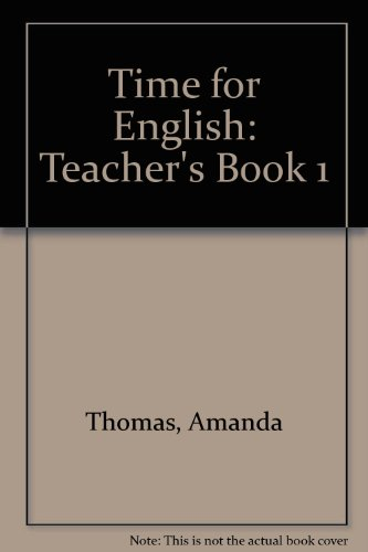 9780333685457: Time for English: Teacher's Book 1