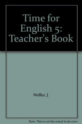 9780333685495: Time for English 5: Teacher's Book