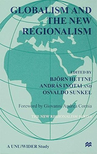 9780333687079: Globalism and the New Regionalism: Volume 1 (v. 1)