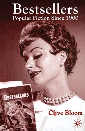 9780333687437: Bestsellers: Popular Fiction since 1900