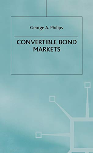 9780333687499: Convertible Bond Markets