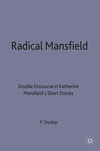 9780333687826: Radical Mansfield: Double Discourse in Katherine Mansfield's Short Stories