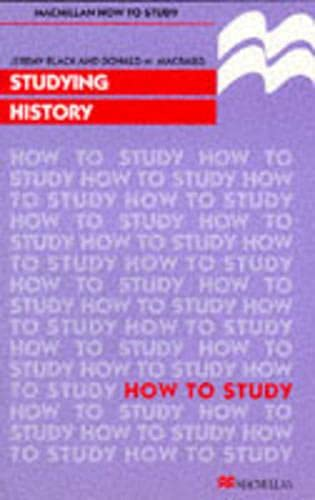 9780333687956: Studying History (Macmillan How to Study)