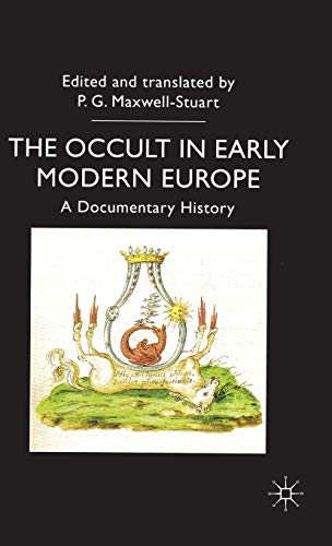9780333688144: The Occult in Early Modern Europe: A Documentary History (Documents in History)
