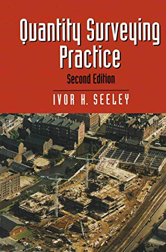 9780333689073: Quantity Surveying Practice (Building and Surveying Series)