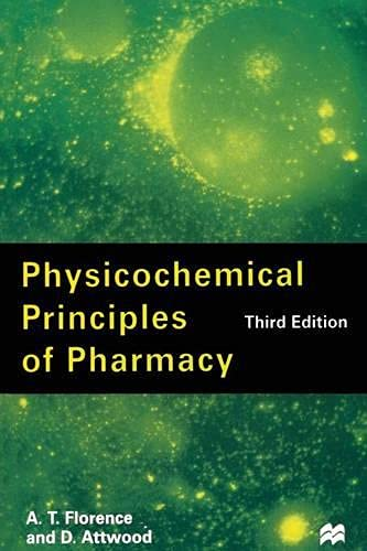 9780333690819: Physicochemical Principles of Pharmacy, 3rd Edition