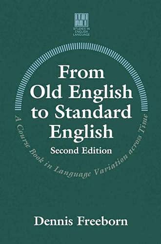 9780333691540: From Old English to Standard English (Studies in English Language)