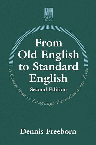 9780333691540: From Old English to Standard English (Studies in English Language)