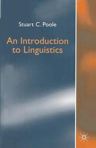 9780333692172: An Introduction to Linguistics