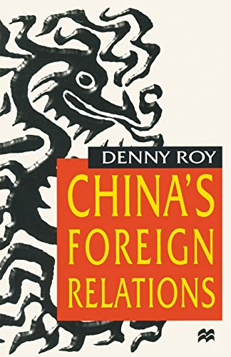 9780333693131: China's Foreign Relations