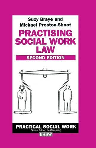 9780333693834: Practising Social Work Law