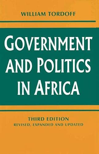 9780333694732: Government and Politics in Africa