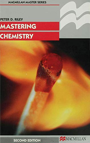 9780333695982: Mastering Chemistry (Palgrave Master Series)