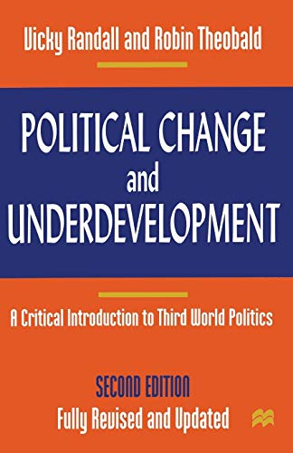 9780333698037: Political Change and Underdevelopment: A Critical Introduction to Third World Politics