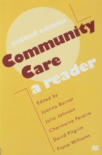 9780333698464: Community Care: A Reader