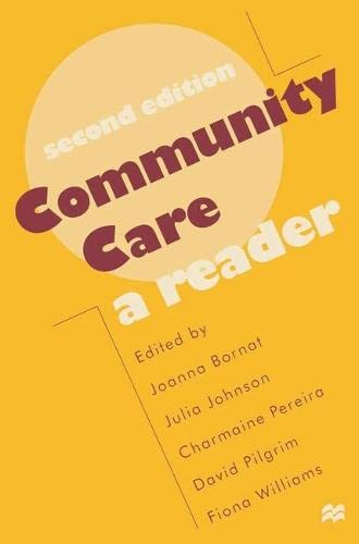 9780333698471: Community Care: A Reader