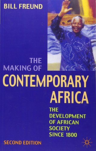 9780333698723: Making of Contemporary Africa