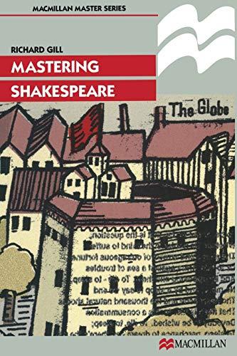 9780333698730: Mastering Shakespeare (Macmillan Master)