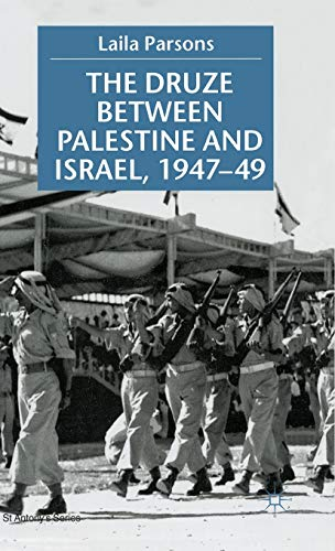 9780333710043: The Druze between Palestine and Israel 1947–49 (St Antony's Series)