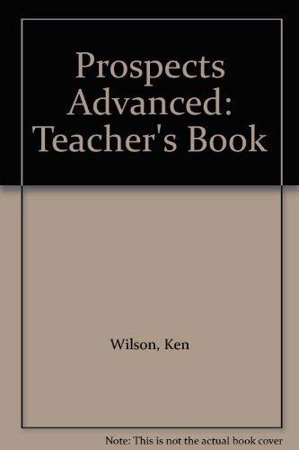 Prospects Advanced: Teacher's Book: Michael, Vince, Tomalin,