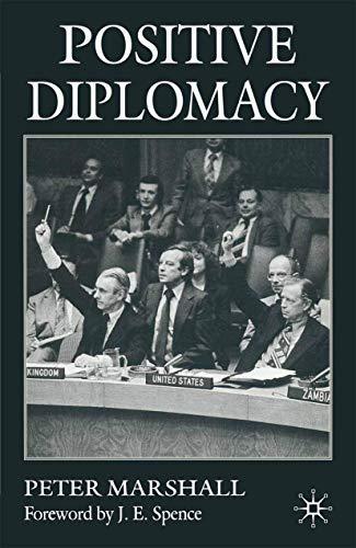 9780333710982: Positive Diplomacy