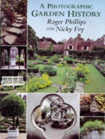 9780333711019: Photographic Garden History