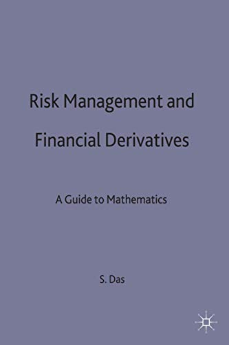 9780333713976: Risk Management and Financial Derivatives: A Guide to the Mathematics (Finance and Capital Markets Series)