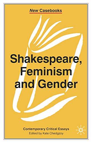 9780333716526: Shakespeare, Feminism and Gender (New Casebooks)