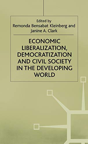 9780333720684: Economic Liberalization, Democratization and Civil Society in the Developing World (International Political Economy Series)