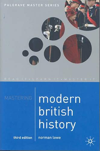 9780333721063: Mastering Modern British History (Palgrave Master Series)