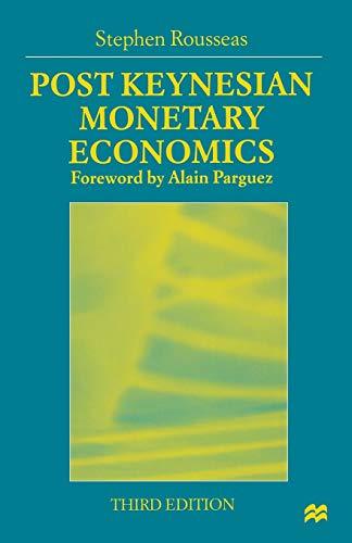 9780333721247: Post Keynesian Monetary Economics