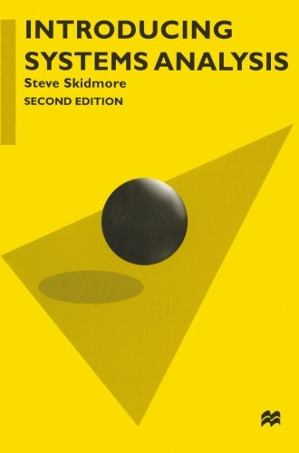 9780333721414: Introducing Systems Analysis (Palgrave Computer Science)
