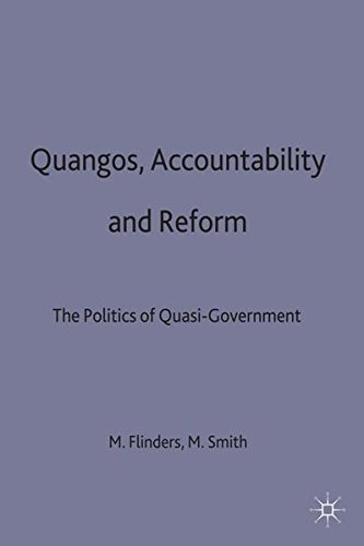 9780333724880: Quangos Accountability and Reform: The Politics of Quasi-government
