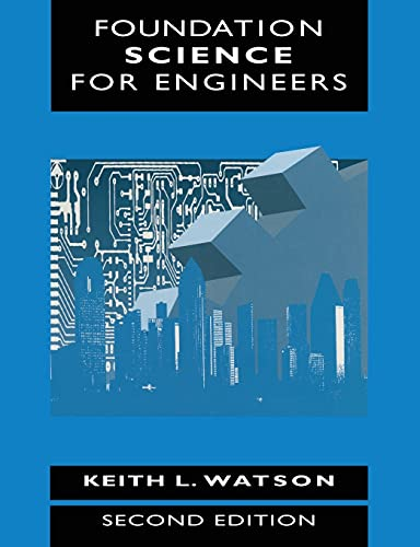 9780333725450: Foundation Science for Engineers