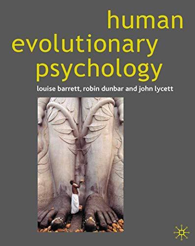 9780333725573: Human Evolutionary Psychology