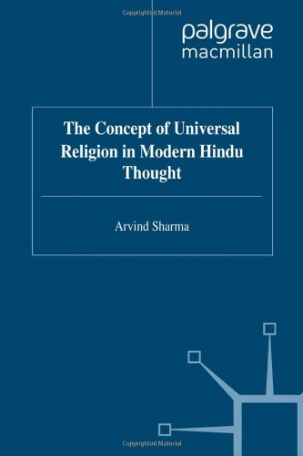 9780333725849: The Concept of Universal Religion in Modern Hindu Thought (Library of Philosophy & Religion)