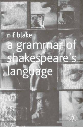 9780333725900: A Grammar of Shakespeare's Language