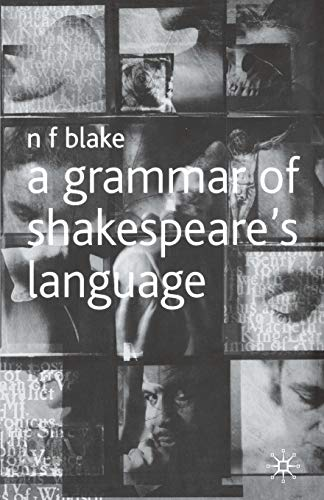 9780333725917: A Grammar of Shakespeare's Language
